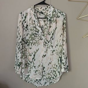 MOSSIMO Printed Dress Shirt Blouse from Target